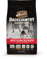 Merrick Backcountry Raw Infused Great Plains Red Meat Grain Free Dog Food