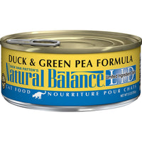 Natural Balance Limited Ingredient Duck & Green Pea Cat Food - 24 Pack