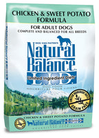 Natural Balance Limited Ingredient Chicken & Sweet Potato Grain Free Dog Food