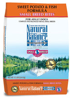 Natural Balance Small Breed Bites Limited Ingredient Sweet Potato & Fish Dog Food