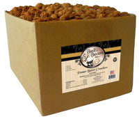 Basil & Baxter's Peanut Butter Crunchers Biscuit Dog Treats, 10lb. Box