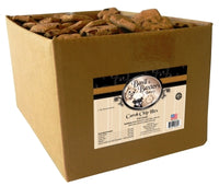 Basil & Baxter's Carob Chip Hex Biscuit Dog Treats, 10lb. Box