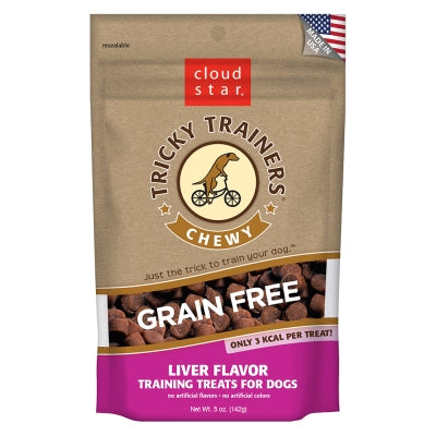 Cloud Star Tricky Trainers Chewy Grain Free Liver - 5oz