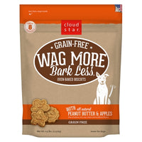 Cloud Star Wag More Bark Less Grain Free Peanut Butter & Apples- 2.5 lb