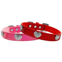 Mirage Crystal Heart Ice Cream Dog Collar