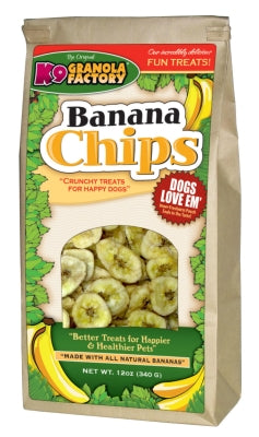 K9 Granola Factory Banana Chips Dog Treats