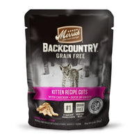 Merrick Backcountry Grain Free Real Chicken Kitten Food, 3oz. 24 Pack