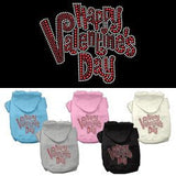 Happy Valentines Day Dog Hoodies