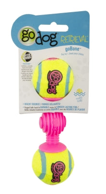 goDog Retrieval Bone Dog Toy