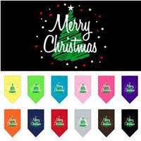 Mirage - Scribble Merry Christmas Dog Bandanas