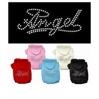 Mirage - Angel Rhinestone Dog Hoodies