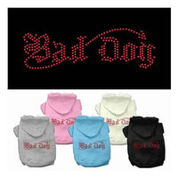 Mirage Bad Dog Rhinestone Dog Hoodie