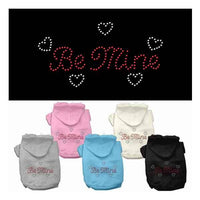 Mirage Be Mine Rhinestone Dog Hoodie