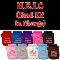 Mirage - Head Elf In Charge Dog Hoodie