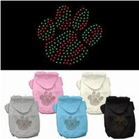 Mirage - Holiday Paw Dog Hoodies