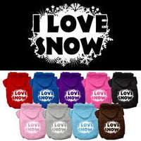 Mirage - I Love Snow Dog Hoodie