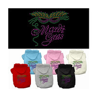 Mirage - Mardi Gras Dog Hoodies