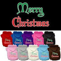 Mirage - Merry Christmas Dog Hoodie