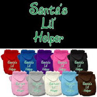 Mirage - Santa's Lil' Helper Christmas Dog Hoodie
