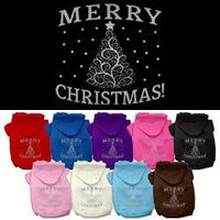 Mirage - Shimmer Christmas Tree Dog Hoodie