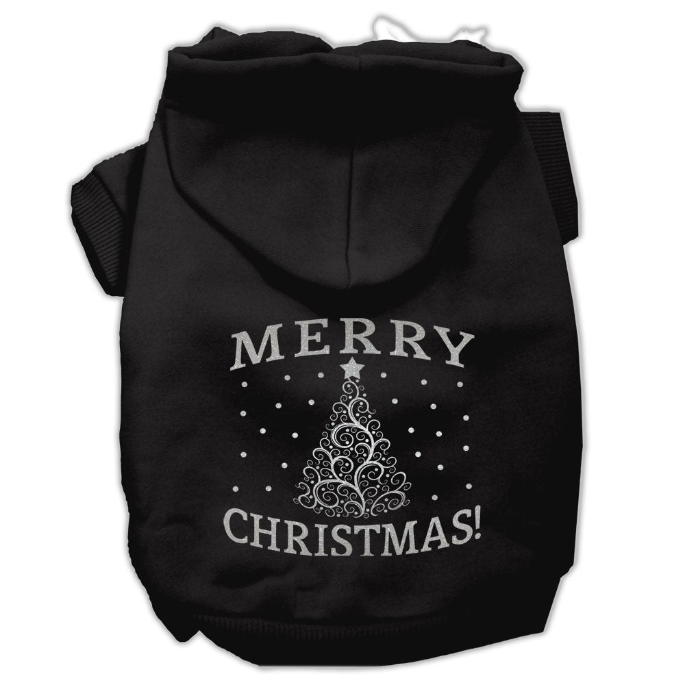 Mirage - Shimmer Christmas Tree Dog Hoodie - Black