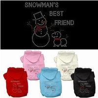 Mirage - Snowman's Best Friend Christmas Dog Hoodies