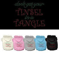 Mirage - Tinsel Tangle Christmas Dog Hoodies