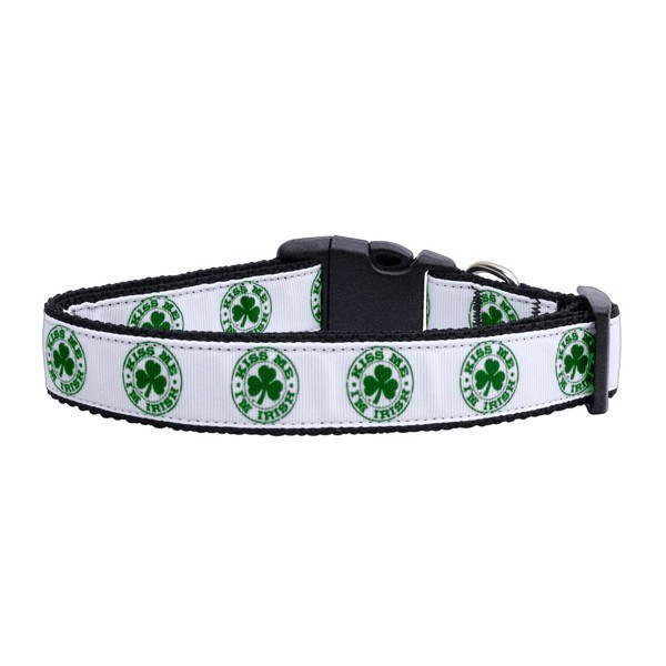 Kiss Me I'm Irish Dog Collar