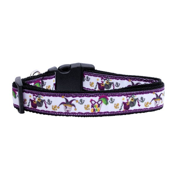 Mardi Gras Dog Collar