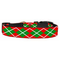 Mirage - Argyle Christmas Dog Collar