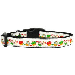 Mirage - Christmas Cupcakes Dog Collar