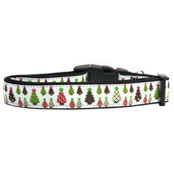 Mirage - Christmas Trees Dog Collars
