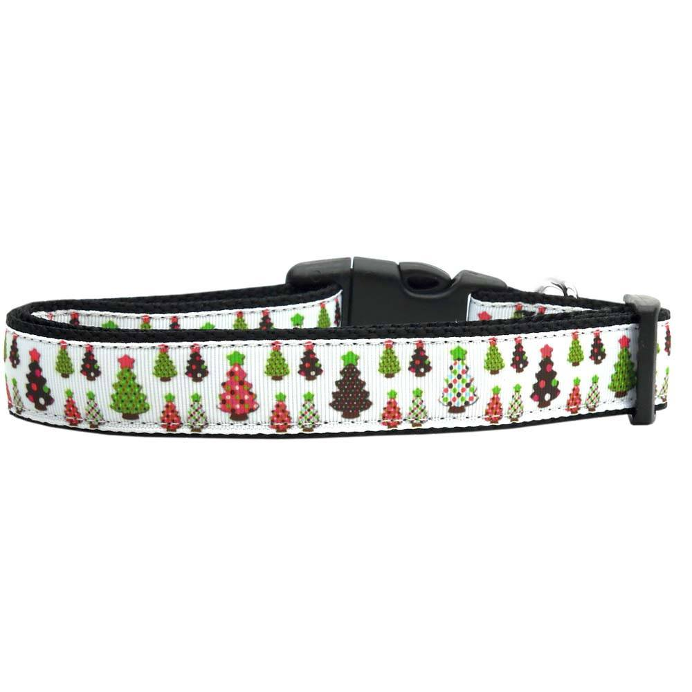Mirage - Designer Christmas Trees Dog Collar