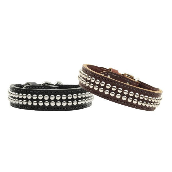 Mirage - Detroit Studded Leather Dog Collars