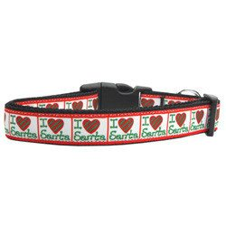 Mirage - I Heart Santa Christmas Dog Collars