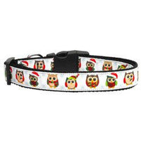 Mirage - Snowy Owls Christmas Dog Collars