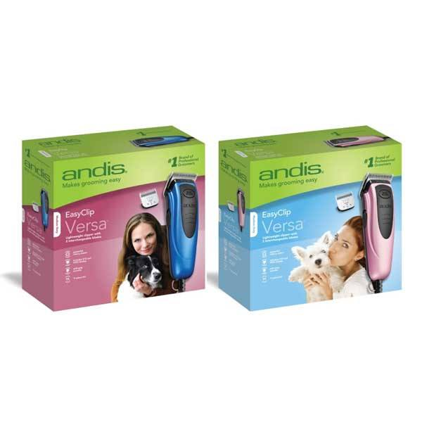 Andis - EasyClip Versa 12 Piece Dog Clipper Kit