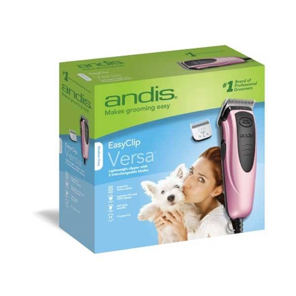 Andis - EasyClip Versa 12 Piece Pink Clipper Kit