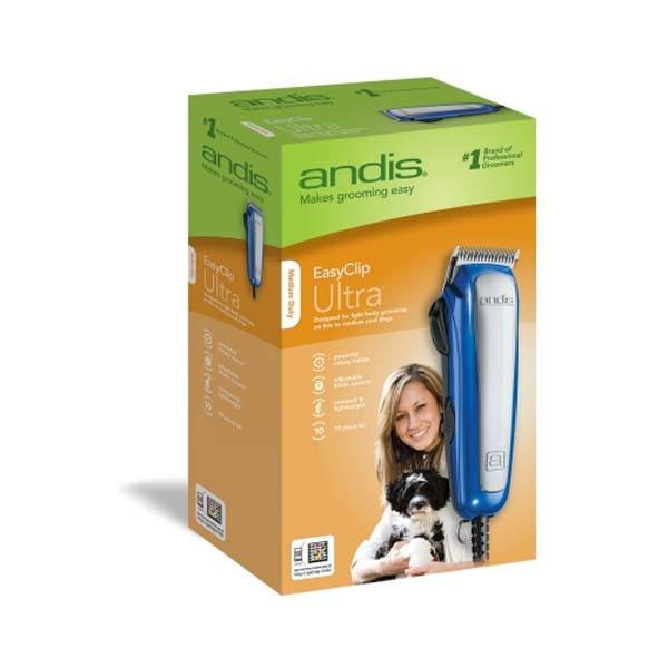 Andis - Ultra Clip 10 Piece Clipper Kit
