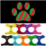 Christmas Paw Soft Mesh Harnesses