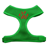 Christmas Paw Soft Mesh Harness - Emerald Green