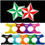 Mirage Double Holiday Star Soft Mesh Dog Harness