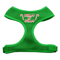 Mirage - Holly N Jolly Dog Harness - Emerald Green