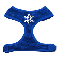Mirage - Snowflake Dog Harness - Blue