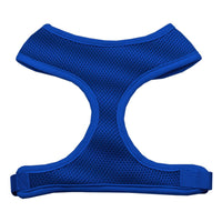 Blue Soft Mesh Dog Harness