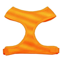 Orange Soft Mesh Dog Harness