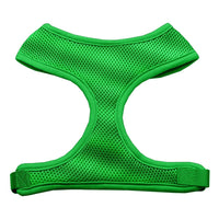 Green Soft Mesh Dog Harness
