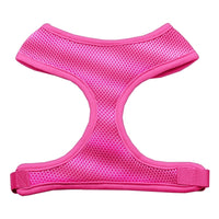 Pink Soft Mesh Dog Harness