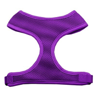 Purple Soft Mesh Dog Harness