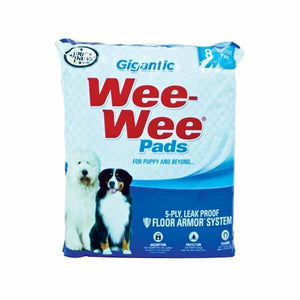 Four Paws Gigantic Wee Wee Pads 8 Count